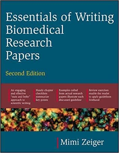 Amazoncom Essentials Of Writing Biomedical Research Papers  Essentials Of Writing Biomedical Research Papers Second Edition Nd Edition