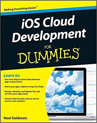 Book iOS Cloud Development For Dummies by Neal Goldstein (2012-08-28)