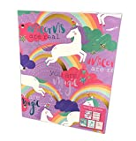 You are Pure Magic Magical Unicorns Set of 5 Novelty Themed School Pocket Folders