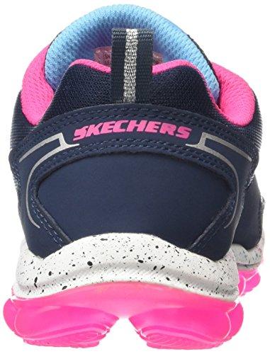 Skechers Skech Air Jumpabout - Zapatillas De Deporte Niñas Azul (Nvhp)