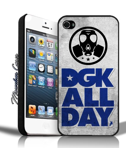 Amazoncom Dgk All Day Logo Grunge Blue Iphone 5 Case By Mc Cell