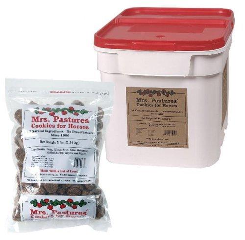 Mrs. Pastures Cookies for Horses - (15lb Bucket) 1