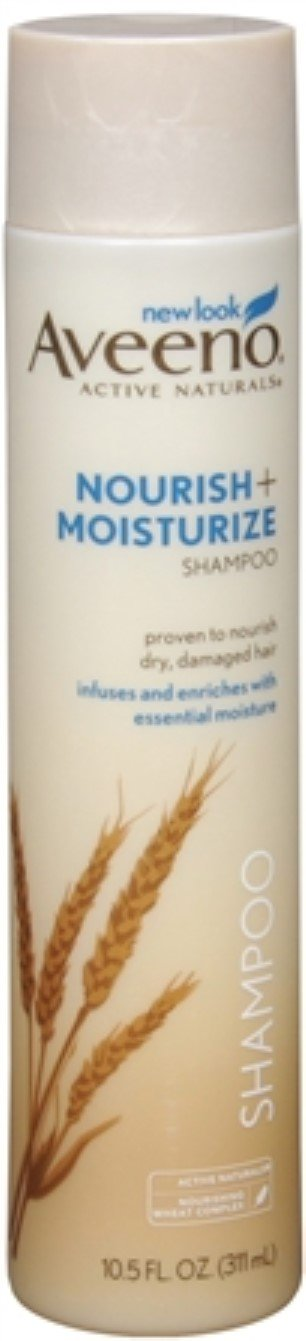 Aveeno Nourish+ Moisturize Gentle Hydrating Shampoo, 10.5 Fl. Oz (Pack of 3)
