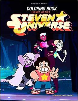 Amazon Com Steven Universe Coloring Book Coloring Book For Boys
