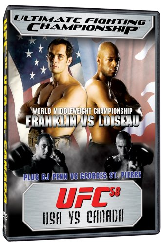 Ultimate Fighting Championship, Vol. 58: USA vs - Outlets George St