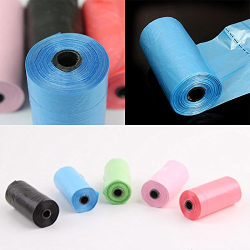 20 Rolls 400 Bags Portable Pet Dog Puppy Cat Waste Poop Poo Pick Up Clean-Up Bag