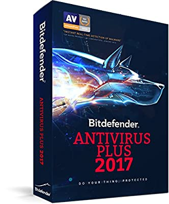 Bitdefender Antivirus Plus 2017 3 Devices 2 Years PC (3-Users)