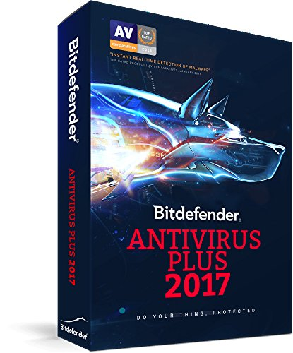 Bitdefender Antivirus Plus 2017 3 Devices 1 Year PC (3-Users)
