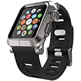 LUNATIK EPIK-008 Aluminum Case and Silicone Strap for Apple Watch, 42mm