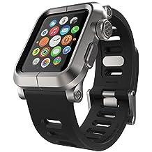 LUNATIK EPIK-008 Aluminum Case and Silicone Strap for Apple Watch, 42mm