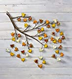 Plow & Hearth Leaves Tree Branch Metal Wall Art
