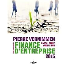 FINANCE D'ENTREPRISE 2015 13E ÉD.