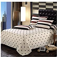 KAKA(TM) 1 Pcs Stylish Simplicity Bedding Polka Dot Quilt Cover Sheets (200-230cm)