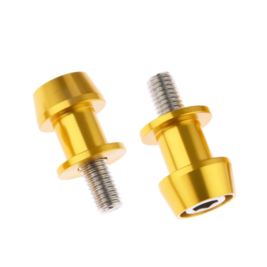 Bule Sharplace 2 St/ücke 8mm Universalmotorrad CNC Schwingen Spulen und Schrauben Anbauteile f/ür Alle Motorrad
