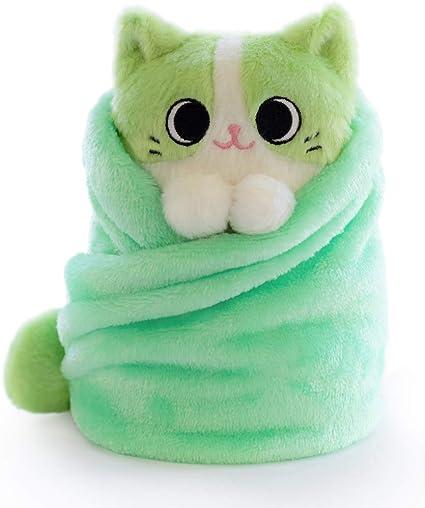 Purritos 7 Inch Cat In Blanket Plush Series 2 Fishbone