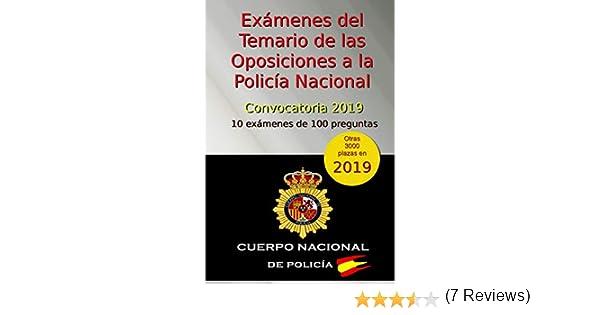 Exámenes del Temario de las Oposiciones a la Policía Nacional ...