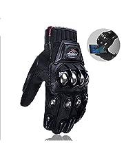 Steel Outdoor Reinforced Brass Knuckle Motorcycle Glove Motorbike Powersports Racing Textile Safety Gloves Gants