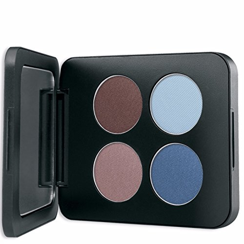 (Youngblood Mineral Cosmetics Natural Pressed Mineral Quad Eyeshadow - Glamour-Eyes - 4 g / 14 oz)