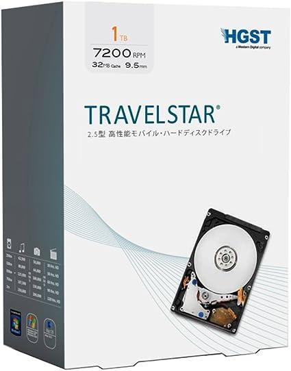 内蔵HDD 2.5inch 1TB(7200rpm キャッシュ32MB)