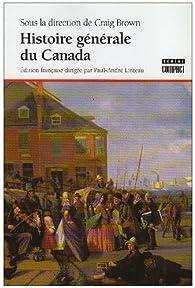 Histoire générale du Canada par Ramsay Cook
