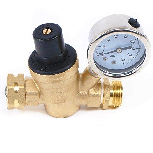 Water-Regulator-Valve-Lead-Free-Brass-Adjustable-RV-Pressure-Regulator-With-Pressure-Gauge-and-Water-Filter-Net-by-US-Solid