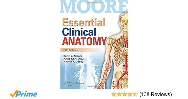 Essential Clinical Anatomy 9781451187496 Medicine Health Science