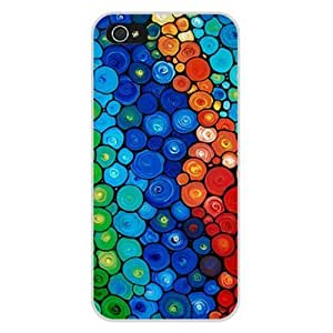 Colorful Printed Patternd Plastic Hard Case Cover iphone 4s