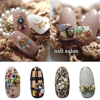 Fashlady Latest Japanese Wheel Nail Art Bead Charms Fashion Korea