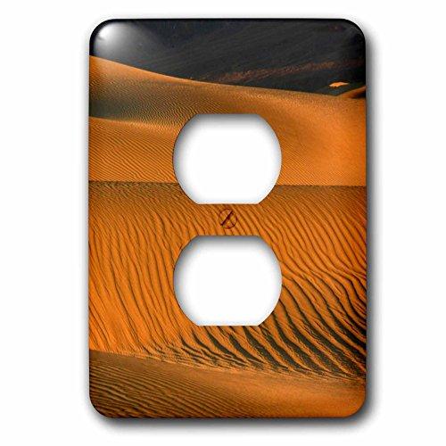 3dRose Lsp_208994_6 Mesbastante - Juego de 6 cañas planas, diseño de cañas de arena, California, Usa. - 2 enchufes...