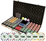 Premium Set of of 750 Casino Del Sol 11.5 gram Poker Chips w/Case, Cards, Dealer Buttons, 2 Cut Cards