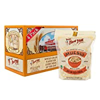 Bob's Red Mill Old Country Style Muesli Cereal, 40 Ounce (Pack of 4) (Packaging may vary)