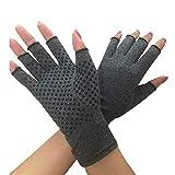 Best Arthritis Gloves - Compression Glove for Rheumatoid, Osteoarthritis - Heat H Review