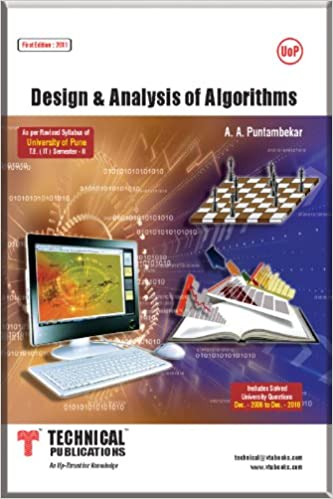 Design And Analysis Of Algorithms A A Puntambekar Pdf
