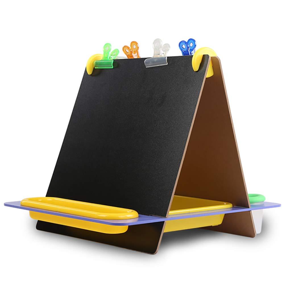 イーゼル イーゼル 子供用デスクトップイーゼル両面描画ボードイーゼル折りたたみ式小型黒板グラフィティワードパッド B07GYRBYG6, ユノマエマチ:21efbbd9 --- ijpba.info