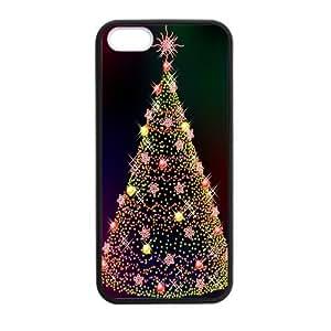 Custom Christmas Tree Back Cover Case for iphone5,5S JN5S-846