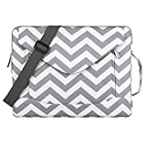 MOSISO Laptop Shoulder Bag Compatible 13-13.3 Inch