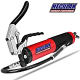 MINGSUO Grease Gun Pistol Grip Heavy Duty Carbon Steel Canister 14oz. with 18