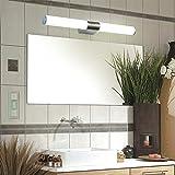 LayTmore New Modern Bathroom Vanity Light Fixture,12W LED Rectangular Bar Design,Modern LED Home Mirror Decorative Vanity Wall Sconce Light