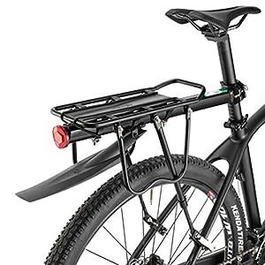 ROCKBROS Portapacchi Bici Alluminio Universle Regolabile per Bici MTB Portapacchi Posteriore Mountain Bike capacità… 13 spesavip