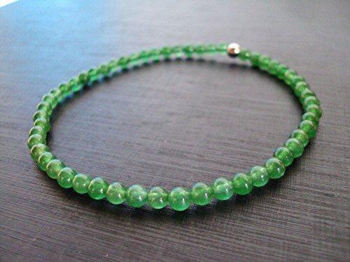 Jade anklets,green anklets,fashion anklets for Men and - Jade Anklet