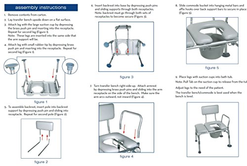 Drive-Medical-Combination-Padded-Seat-Transfer-Bench-with-Commode-Opening-Gray