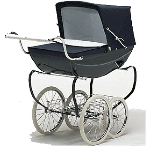 Vintage silver cross dolls prams — 10