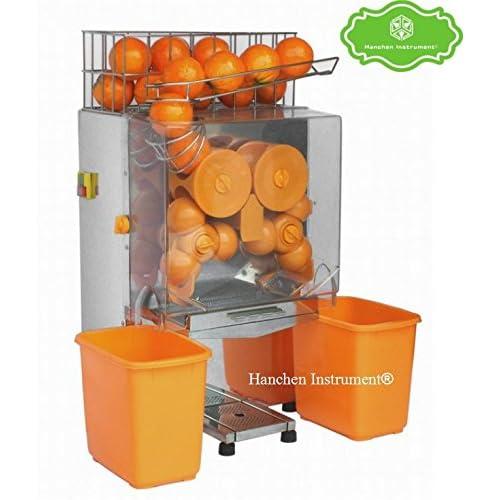 2000e-2?Commercial en acier inoxydable de haute qualit? automatique Orange Extracteur Juicer Squeezer (220?V)