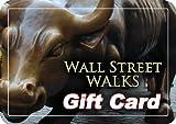 Wall Street Walks Gift Card $25.00 image