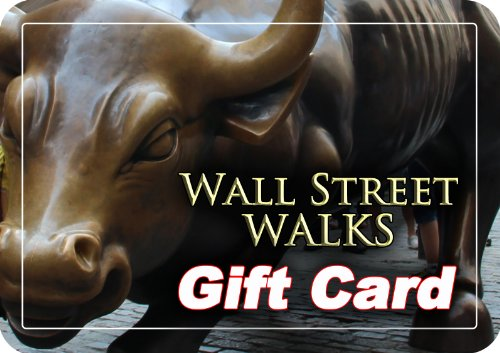 Wall Street Walks Gift Card $75.00 (75.00 Gift Card)