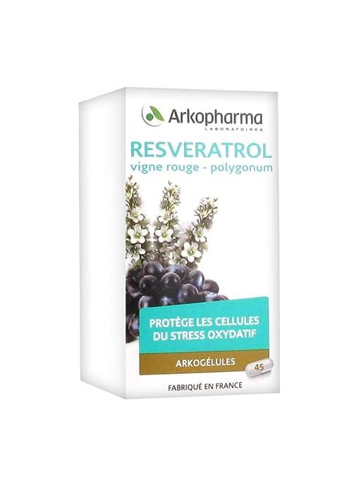 Arkopharma - Arkogellas Resveratrol: Amazon.es: Salud y ...