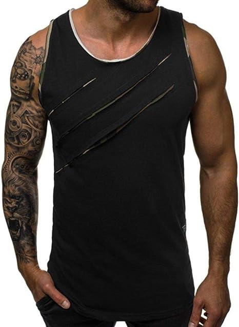 Camisetas De Tirantes Para Hombre,Camiseta Sin Mangas De Algodón ...