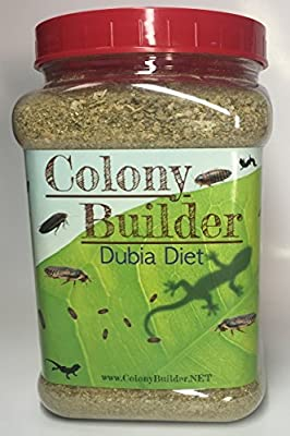 COLONY BUILDER DUBIA DIET (2.5 LBs) - Roach Chow - Balanced Daily Food