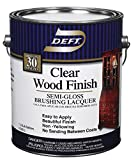 Deft 01101 Clear Wood Finish Lacquer 1gal - Semi Gloss (Pack Of 4)