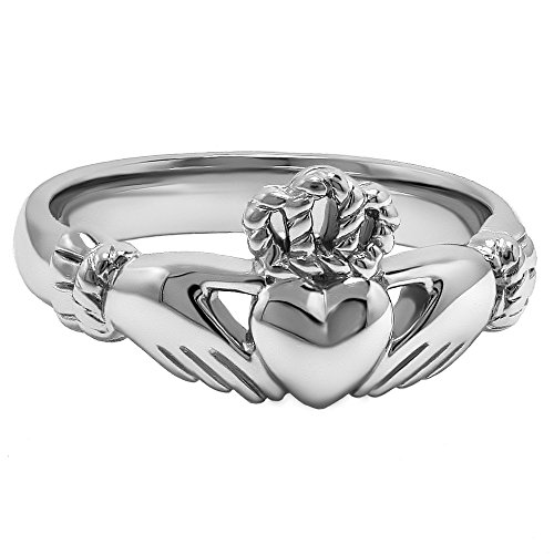 Claddagh Ring LS-ULS-6334 - Size: 7